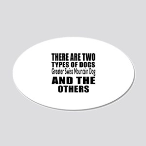 There Are Two Types Of Great 20x12 Oval Wall Decal