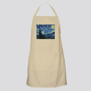 The Starry Night by Van Gogh Apron