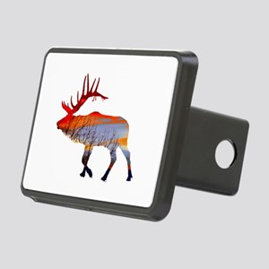 Sunset elk Rectangular Hitch Cover