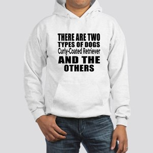 There Are Two Types Of Curly-Coa Hooded Sweatshirt