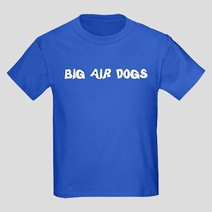 Big Air Dogs Kids Dark T-Shirt