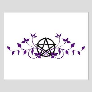 Flourishing Pentacle Small Poster