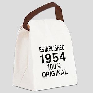 Established In 1954 Canvas Lunch Bag