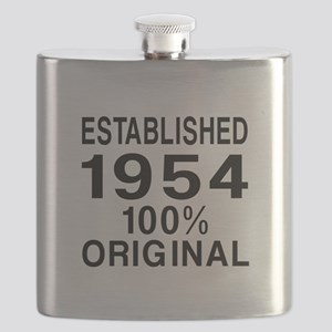 Established In 1954 Flask