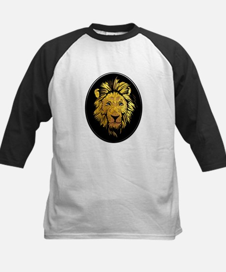 Golden Lion with Sapphire Blue Eye Baseball Jersey