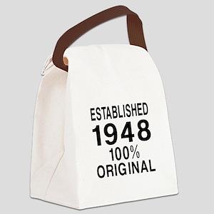 Established In 1948 Canvas Lunch Bag