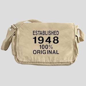 Established In 1948 Messenger Bag