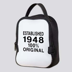 Established In 1948 Neoprene Lunch Bag