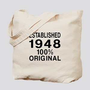 Established In 1948 Tote Bag