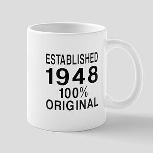 Established In 1948 Mug