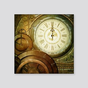Steampunk, the clockswork Sticker