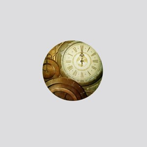 Steampunk, the clockswork Mini Button