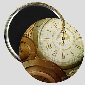 Steampunk, the clockswork Magnets