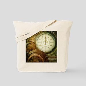 Steampunk, the clockswork Tote Bag