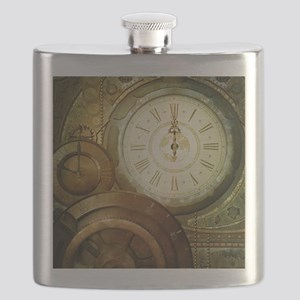 Steampunk, the clockswork Flask