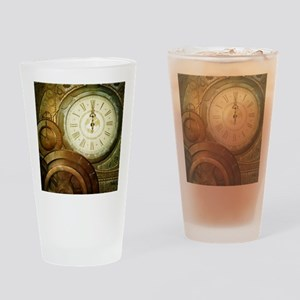 Steampunk, the clockswork Drinking Glass