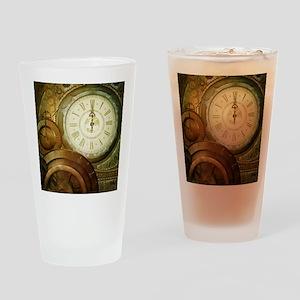 Steampunk, the clockswork Drinking Glass