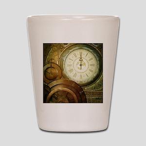 Steampunk, the clockswork Shot Glass