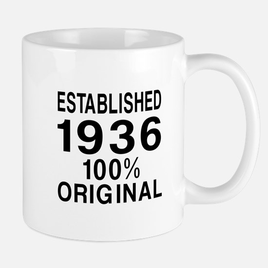 Established In 1936 Mug