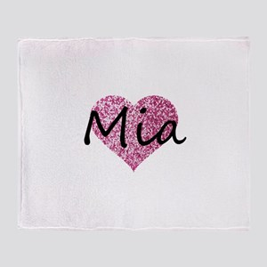 Mia Throw Blanket