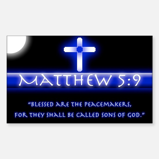 Blessed Are the PeaceMakers Decal