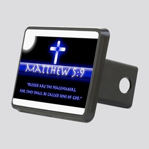 Blessed Are the PeaceMaker Rectangular Hitch Cover