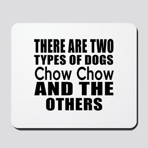 There Are Two Types Of Chow Chow Dogs De Mousepad