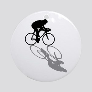 Cycling Bike Round Ornament