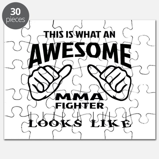 This is what an MMA Fighter looks like Puzzle