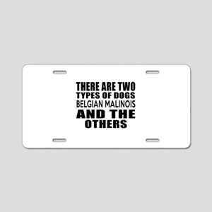 There Are Two Types Of Belg Aluminum License Plate