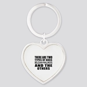 There Are Two Types Of Belgian Mali Heart Keychain