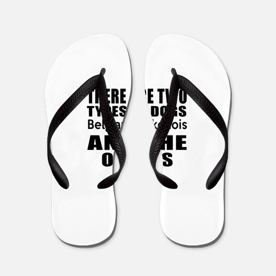There Are Two Types Of Belgian Laekenoi Flip Flops