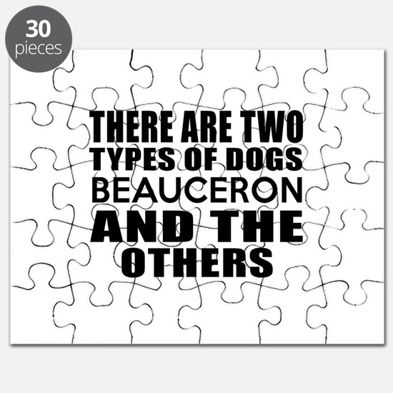 There Are Two Types Of Beauceron Dogs Desig Puzzle