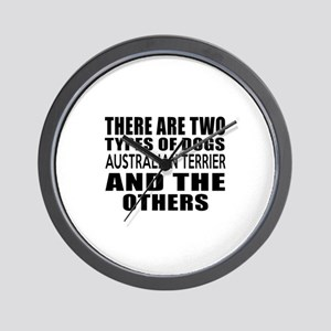 There Are Two Types Of Australian Terri Wall Clock