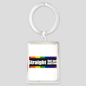 StickerBumper_StraightButNotNarrow01 Keychains