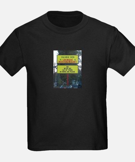 WICKED WOK - CHINESE RESTAURANT SIGN T-Shirt