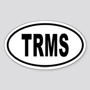 TRMS Oval Sticker