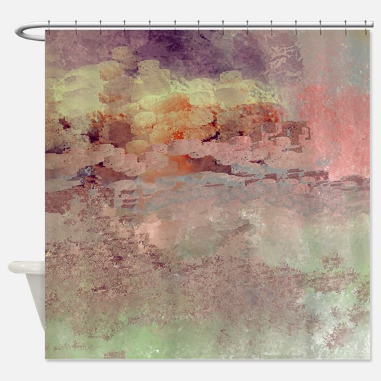 Cute Warriors in pink Shower Curtain