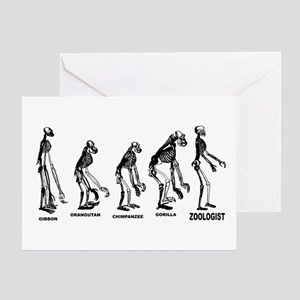 Zoologist Greeting Cards