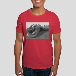 Magnus - Nude Male Dark T-Shirt