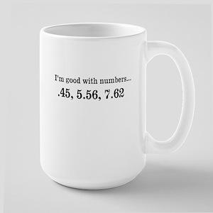 Good with numbers shirt Mugs