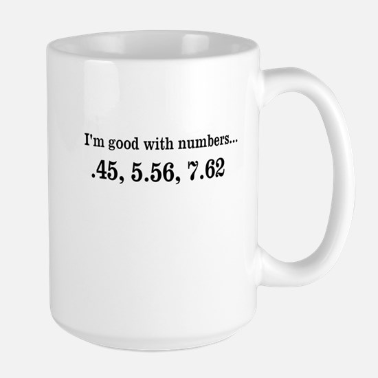 Good with numbers shirt Mugs