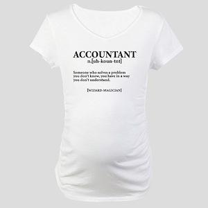 ACCOUNTANT NOUN Maternity T-Shirt