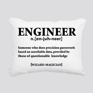 ENGINEER NOUN Rectangular Canvas Pillow