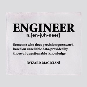 ENGINEER NOUN Throw Blanket