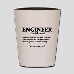 ENGINEER NOUN Shot Glass