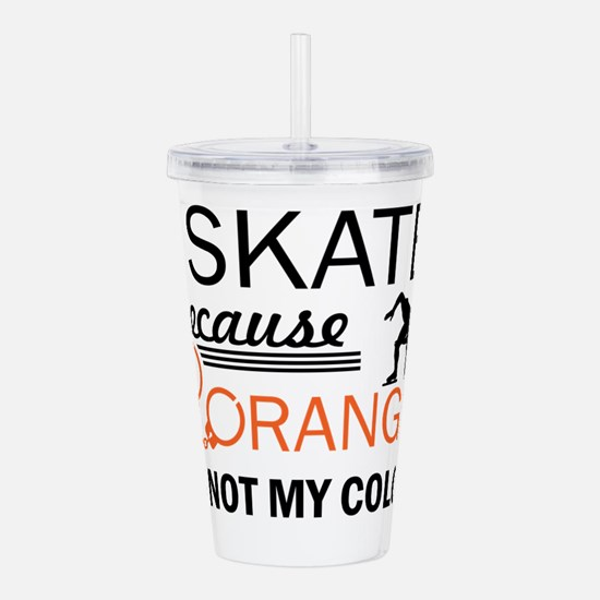 Speed skating designs Acrylic Double-wall Tumbler