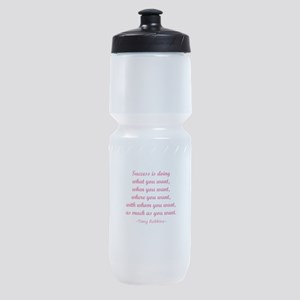 Tony Robbin quotes Sports Bottle