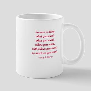 Tony Robbin quotes Mugs