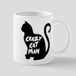 CRAZY CAT MAN Mugs